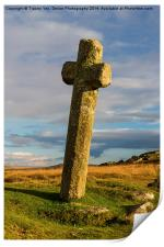 Windy Post Cross, Print