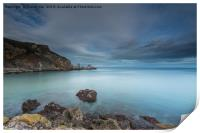 The View From Ansteys Cove., Print