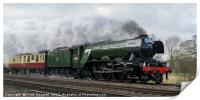 The Flying Scotsman - back to steam, Print