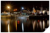 Starbursts at the Harbour, Print