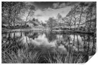 Lumsdale Middle Pond, Print