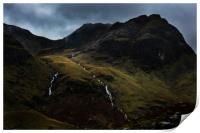 Hart Crag And Greenhow End, Print