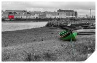 View of Galway Harbour, Ireland, Print