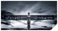 The Angel of the North, Print
