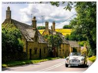 Yesteryear. The Cotswolds., Print