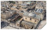 Bath from the Abbey Rooftop, Print