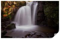 Lumsdale Falls, Print