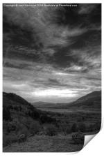View from the Whinlatter Pass, Print