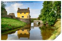 Cottage on a Moat, Print