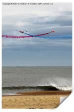 Red Arrows 10, Print