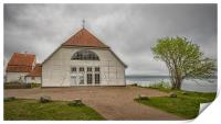 Fredensborg Palace Boathouse, Print