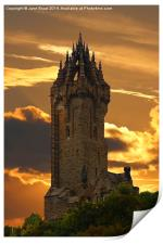 The Wallace Monument, Print