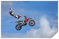 Bolddog Lings FMX Display Team, Print