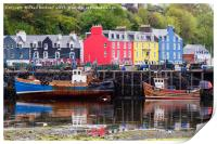 Tobermory Harbour, Print