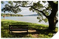 Blagdon Lake in Mendips, Print