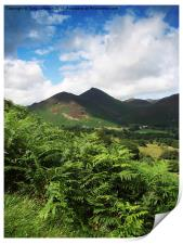Causey Pike From Catbells, Print