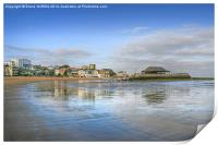 Broadstairs Beach and Pier, Print
