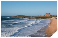 Fistral Beach and the Headland Hotel, Print
