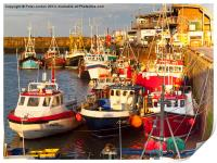 Bridlington Harbour, Print