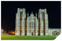 Wells Cathedral Somerset England, Print