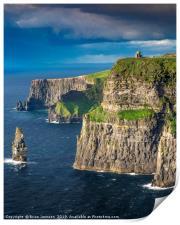 Cliffs of Moher, Print