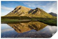 The North Face of the Buachaille, Print
