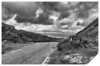 Welcome to Kerry in mono. , Print