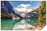 Reflections from Lake Louise Canada, Print