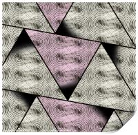 Carbon Triangles, Print