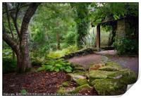 """""""Little Arbour in the wood 2"""", Print"""