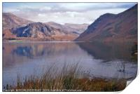 """Reflections at Ennerdale water"", Print"
