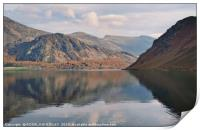 """""""Cloud reflections at Ennerdale water"""", Print"""