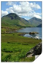 """Wastwater in the sun"", Print"