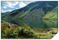 """""""Early morning reflections at Wastwater"""", Print"""