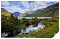 """ Reflections at Wastwater"", Print"