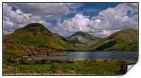 """Clouds over Wastwater"", Print"
