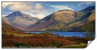 """""""Mountains at Wastwater"""", Print"""