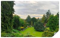 A beautiful view of Queen Elizabeth Park,, Print