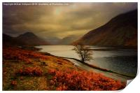 Wast Water and the Screes, Print