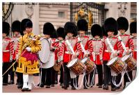 trooping the colour parade , Print