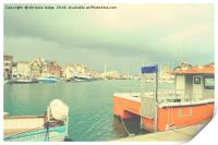 weymouth Old Harbour , Print
