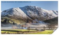 Hartsop In The Mist, Print