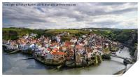 Staithes From Cow Bar Nab, Print