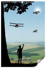 Childhood Dreams - The Flypast, Print