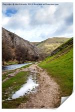 Dovedale , Print