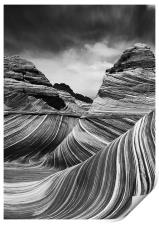 The Wave - Black & White 4, Print