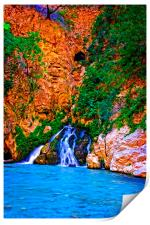 Saklikent Gorge in Turkey, Print