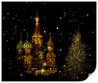 Moscow Night, Print