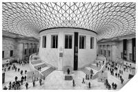 The British Museum London Classic View, Print
