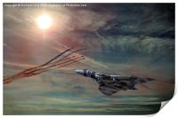 Tribute to the Vulcan Bomber, Print